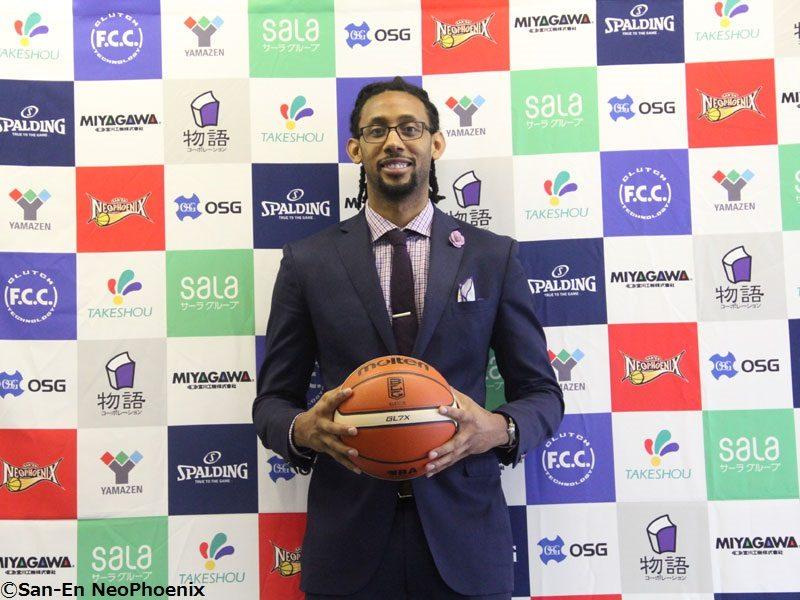 23日デビューを目指す三遠加入の元NBA選手チルドレス「新しいことに挑戦するのが好き」