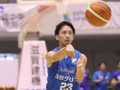 【動画】「プレーオフ進出」を目標に、滋賀の横江豊「一つひとつ勝っていきたい」