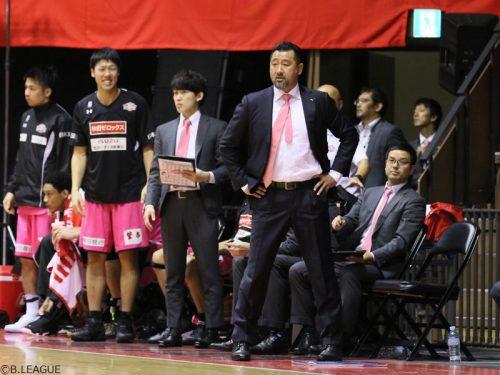 A東京から「非常に大きい1勝」を挙げた秋田の長谷川誠HC「一つひとつ戦っていきたい」