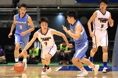 初出場の富山工業が鳴門渦潮に勝利、土浦日大や浜松学院も2回戦へ/ウインターカップ男子1回戦