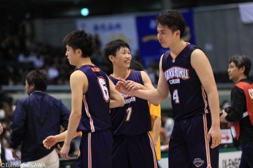 北陸学院が帝京長岡との3位決定戦を制す、大倉ら先発3選手が2ケタ得点