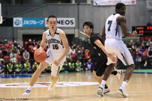同郷の田中大貴に憧れる福岡第一の1年生、松崎裕樹は将来の日本代表入り、東京五輪出場を思い描く
