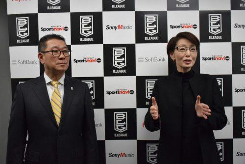 JBA三屋会長とBリーグ大河チェアマンが新年の意気込み「女子は東京五輪で金」、「男子はアジアナンバーワンに」