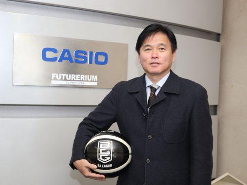 カシオ計算機株式会社にどうしてB.LEAGUEのパートナーになったのか聞いてみた