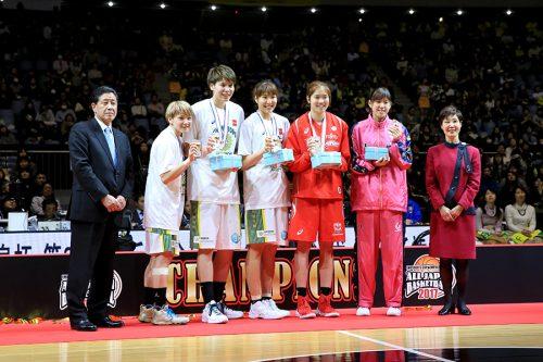 オールジャパン女子ベスト5はリオ五輪組が独占、JX-ENEOSから吉田ら最多3名選出