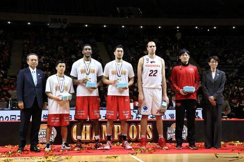 オールジャパン男子ベスト5が発表、初優勝の千葉から富樫ら最多3名が選出