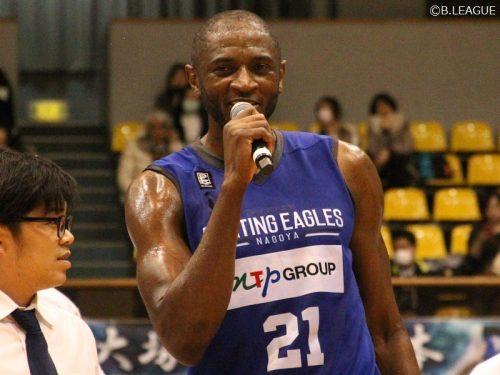 NBA出場歴もある名古屋FEのアラビ、Bリーグ最多得点記録を45得点に更新