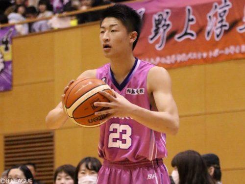 現役高校生の福島水野がBリーグデビュー、2戦連続2ケタ得点の大活躍