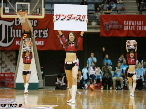 川崎のチアリーダー「BTC」が来シーズンのオーディション開催に向け体験会、見学会を実施