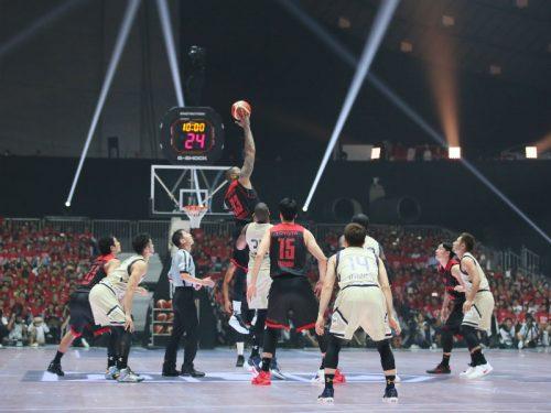 フジテレビで放送されたBリーグ開幕戦、「NYフェスティバル」で銅賞を獲得