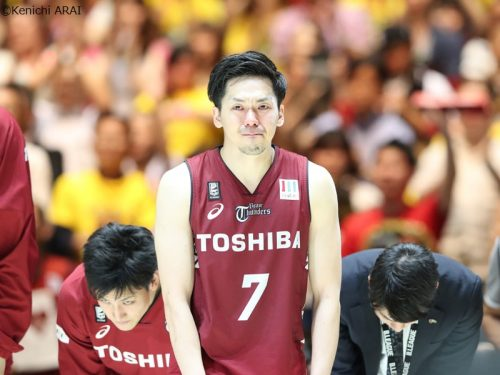 悔しさをにじませる川崎の主将、篠山竜青「気持ちの部分で栃木の方が上だった」