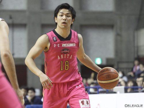 秋田が藤江建典を自由交渉選手リストへ掲出、今季は40試合に出場