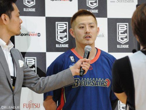 Bリーグ初年度の入替戦を制した横浜、主将の山田は「来シーズンはCSに出られるように」