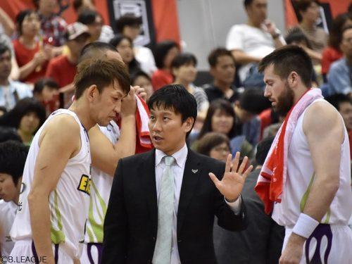 北海道の34歳水野宏太HCが続投、目標は「一体感を持ったチーム作り」