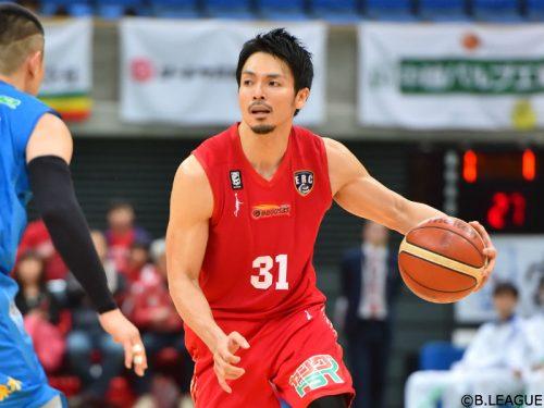 城宝匡史が自由交渉選手リストへ、富山は来季の契約継続に向け交渉中