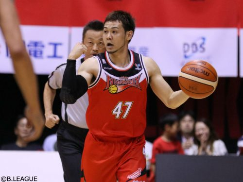 熊本が並里祐との契約基本合意を発表「バスケをとおして熊本に元気と夢を」