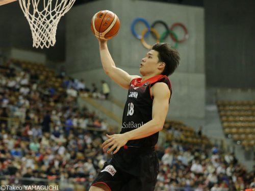 日本代表の馬場雄大、A東京加入が決定「夢に向かって充実した時間を」