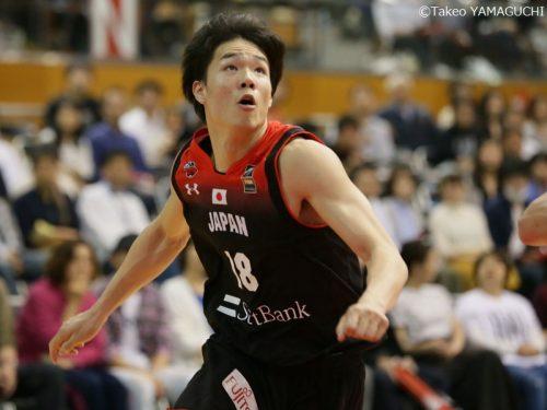 代表唯一の学生プレーヤー、馬場雄大「日本のバスケはこれから」