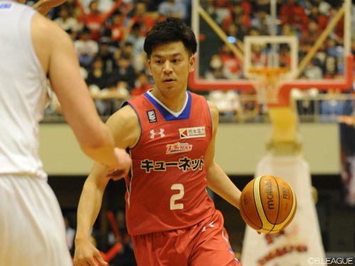 B2初代MVPの古野拓巳が熊本残留「優勝に貢献できるように」