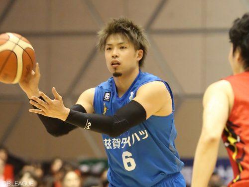 滋賀が長谷川智伸の残留を発表「チャンピオンシップ進出を目標に」