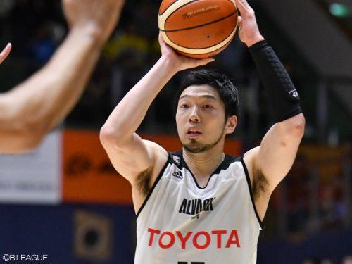 日本代表候補のシューター松井啓十郎、A東京と契約満了で自由交渉選手リストへ
