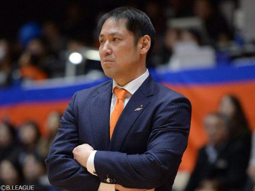 新潟が庄司和広HCの続投を発表「CSを目指してチーム一丸で戦う」