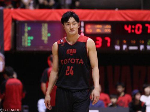 日本代表の田中大貴、A東京と契約継続で残留決定「目指す方向性に魅力を感じた」