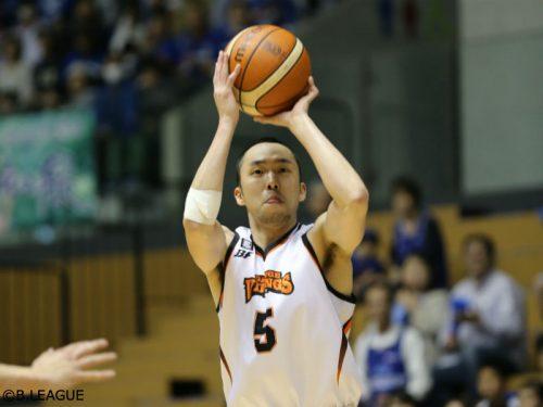 愛媛の田中亮が現役引退、今季から三遠のスキルコーチ兼通訳に就任