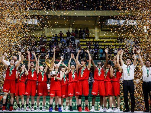 女子日本代表がアジア杯3連覇、水島沙紀が26得点を挙げ豪州に競り勝つ