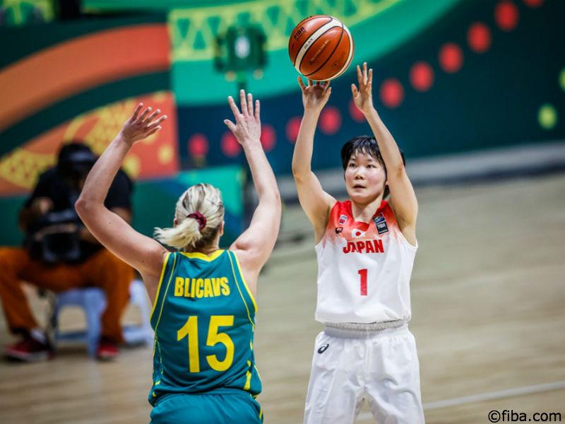 女子日本代表がアジア杯初黒星、豪州を相手に9点差の敗戦