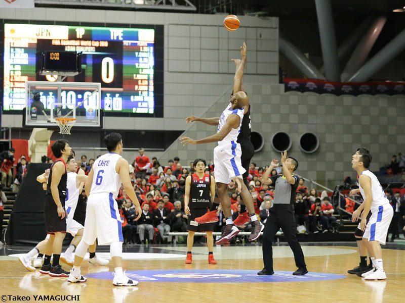 「FIBAバスケットボールワールドカップ2019 アジア地区 1次予選」試合結果