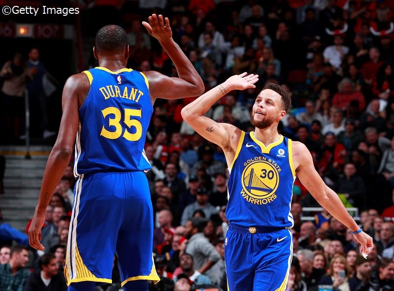 NBA】ウォリアーズがブルズを下...