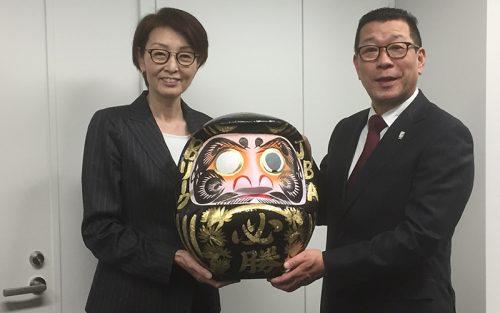 日本バスケの発展を目指し、JBA三屋会長は「前進あるのみ」、Bリーグ大河チェアマン「日々是好日」