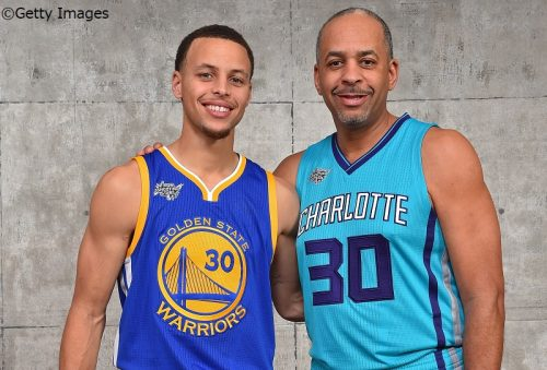 "【NBA】カリー親子の合計得点がバリー親子を追い越し、""親子得点ランキング""で3位に浮上!"