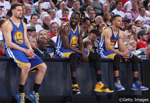 【NBA】2012年から共に成長してきたウォリアーズの現役最強トリオについて「僕たちこそが究極のスタンダード」とカリー