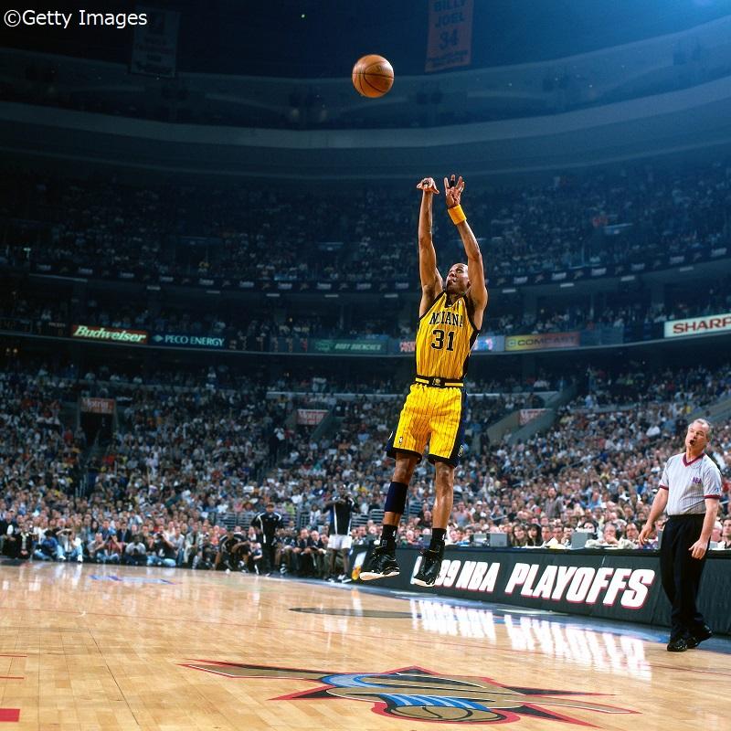 NBA】今日は何の日? 19年前の今日、レジー・ミラーが史上初となる4,000本目の3ポイントを放った日! | バスケットボールキング