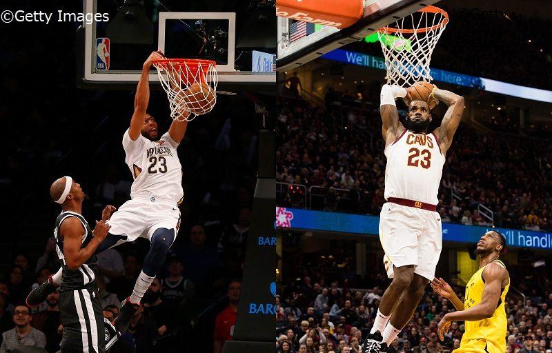 NBA】2月の最優秀選手にレブロン...
