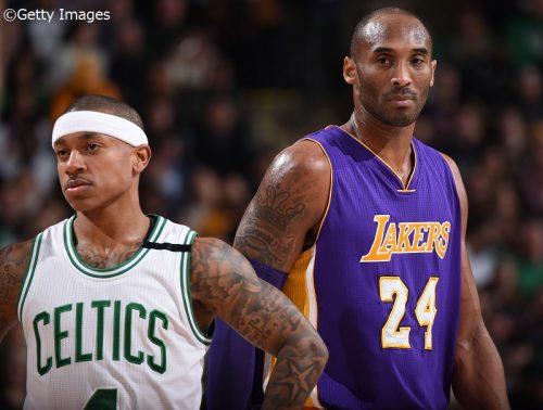 【NBA】昨季プレーオフで急接近、アイザイア・トーマスがコービー・ブライアントと紡いできた関係