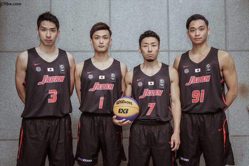 3×3男子代表、1勝1敗でアジア杯...