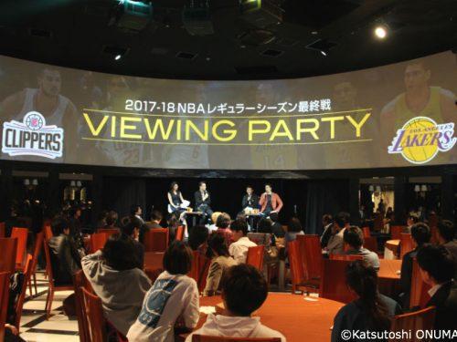 WOWOWがビューイングパーティーを開催、佐々木クリス氏や麒麟の田村裕氏がPO展望を語る