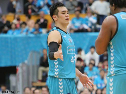 2試合出場停止処分を受けた京都ハンナリーズの永吉佑也「今後のレベルアップにつなげていく」