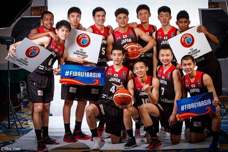 U16アジア選手権が開幕、日本は2日19時からレバノン戦…FIBA公式YouTubeで視聴可能