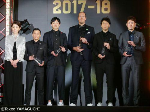 2017-18シーズンのベスト5が決定…富樫勇樹、田中大貴、比江島慎ら昨季同様の5名が選出