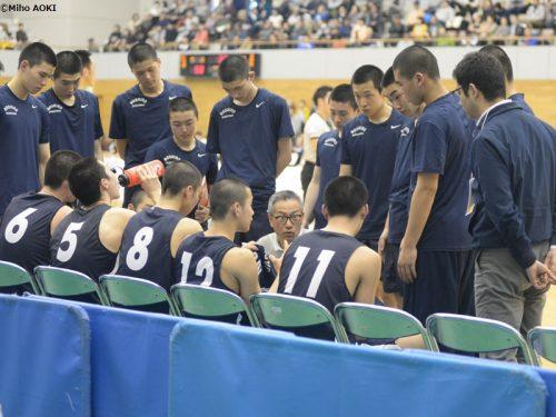 昨年に小野秀二氏を招へいの能代工業、原点「弱者のバスケット」で名門復活の気配