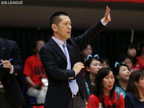 京都ハンナリーズが浜口炎HCの続投を発表、今季はクラブを初のチャンピオンシップ出場へ導く