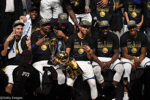 4年間における勝率でNBA史上トップ! 歴代有数のチームとなったウォリアーズ
