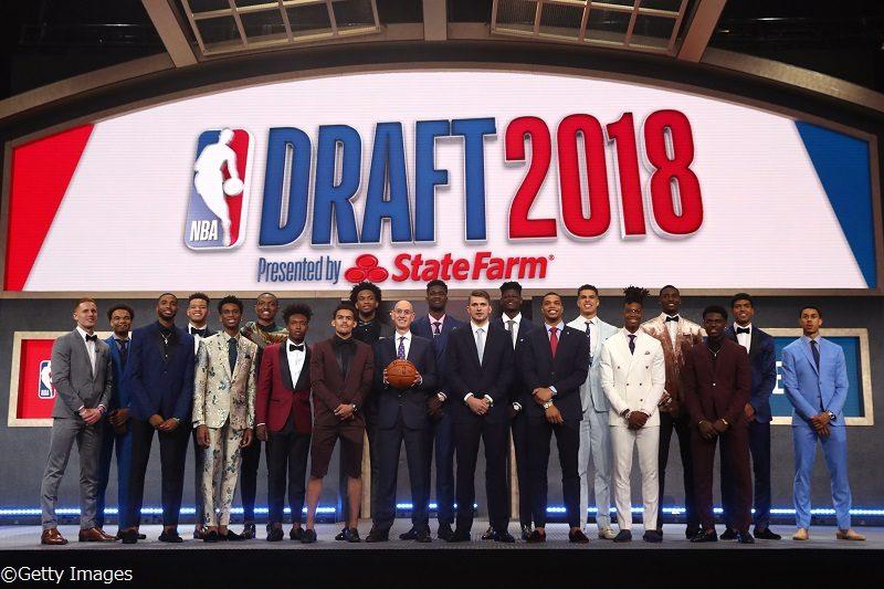 2018年のNBAドラフト