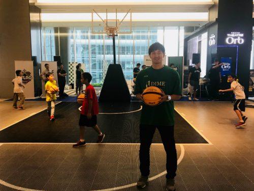 TOKYO DIMEが3x3をPRするイベントを渋谷ヒカリエで開催、岡田優介「3x3と5人制バスケを並列にしたい」