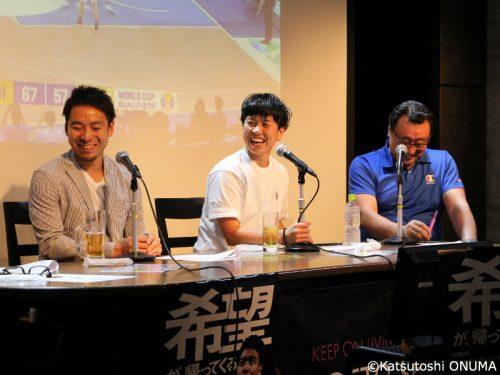 大神雄子氏、志村雄彦氏、倉石平氏が選ぶ男子日本代表ベスト5とは? 『日本バスケ応宴NIGHT』が開催