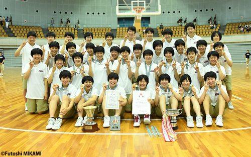 地震にも負けなかった大阪薫英女学院がチーム力で大会10連覇を達成!